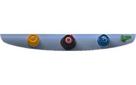 3 TOPAZ EZ HD Desktop Video Magnifier - Control Panel
