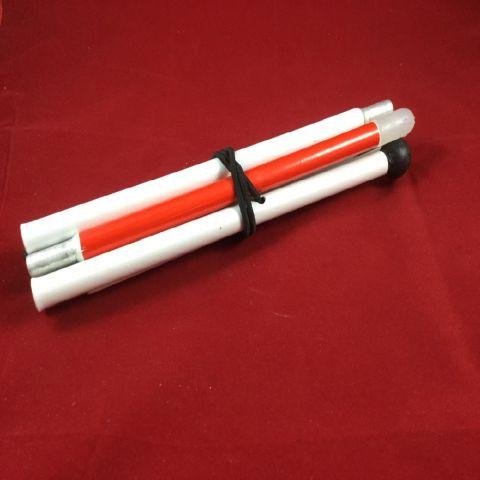бял бастун произведен в Индия